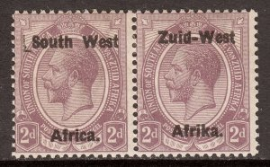 South West Africa - Scott #3 - MH - Toning - SCV $6.50