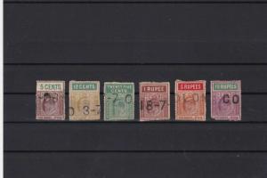 ceylon 1903 telegraph stamps  sref r12681
