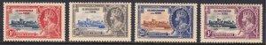 St. Kitts and Nevis - Scott #72-75 - MH - Toning - SCV $11.55
