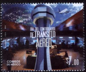 MEXICO 2895, AIR TRAFFIC CONTROLLERS DAY. MINT, NH. VF.