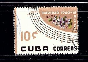 Cuba 661 Used 1960 Christmas