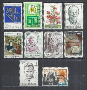TEN AT A TIME - BELGIUM - POSTALLY USED COMMEMORATIVE 60