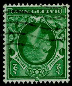 SG429 SPEC N46a(2), ½d bluish green, USED. Cat £15. WMK INV