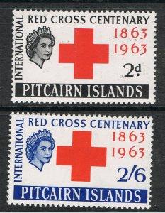 PITCAIRN ISLANDS 1963 RED CROSS