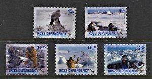 STAMP STATION PERTH Ross Dependency #L94-L98 50th Anniversary Set  MNH CV$12.00