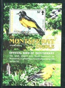 Montserrat 2009 Sc 1217 Birds Oriole CV $6.50