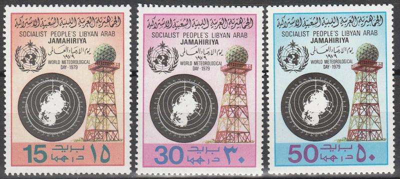 Libya #817-9   MNH  (S9943L)