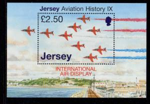 Jersey Sc 1287 2007 Airplanes stamp sheet mint NH