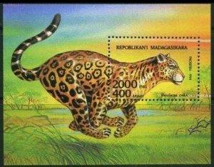 1994 Madagascar 1708/B261 Cats 4,80 €