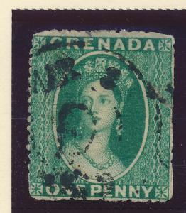 Grenada Stamp Scott #6, Used - Free U.S. Shipping, Free Worldwide Shipping Ov...