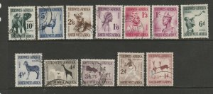 South West Africa 1954 Defs Used SG 154/65
