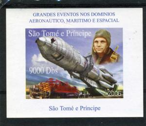SAO TOME & PRINCIPE 2006 SPACE NASA Armstrong Deluxe s/s Mint (NH)