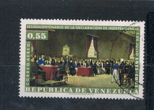 Venezuela #C804 Used Declaration of Independence (V0488)