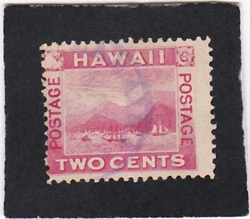 Hawaii #81 used