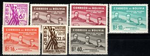 Bolivia #C169-75  F-VF Unused CV $3.55  (X1099)