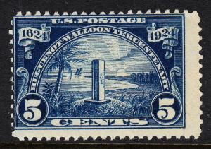 USA — SCOTT 616 — 5¢ HUGUENOT-WALLOON TERCENTENARY — MNH — SCV $37.50