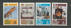 Turks & Caicos Islands MNH 527-30 Norman Rockwell Paintings