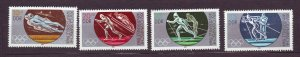 J23266 JL stamps 1983 DDR germany set mnh #2384-7 sports