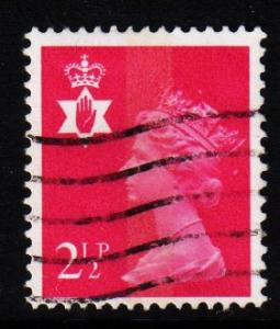 Northern Ireland - #NIMH1 Machin Queen Elizabeth II - Used
