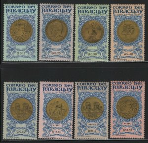 Paraguay 1965 Olympic Medals set Sc# 858-65 NH