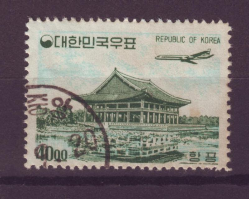 J95 jl,s stamps 1964 so korea 40w c-34 airplane airmail