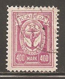 Memel  SC  N37  Used