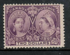 Canada #62 Mint Fine Full Original Gum Hinged **With Certificate**
