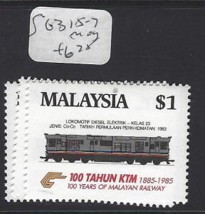 MALAYSIA     (P0801BB)  TRAIN SC 315-7   MOG