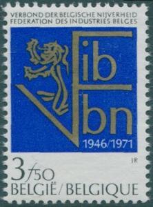 Belgium 1971 SG2248 3f.50 Industries MNH