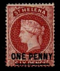 St. Helena Scott 29 Mint hinged (Catalog Value $115.00)