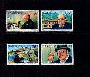 BARBUDA - 1974 - SIR WINSTON CHURCHILL - VICTORY - MINT - MNH SET!
