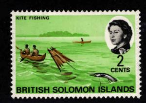 British Solomon Islands Scott 181 MN* 1968 stamp