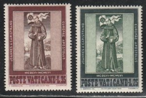 Vatican City #214-215 MNH Full Set of 2
