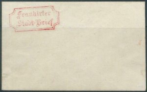 BK0011 - GERMANY  Thurn und Taxis - Postal History - Local Use STATIONERY COVER
