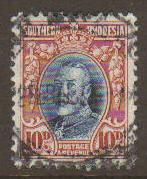 Southern Rhodesia #25a Used