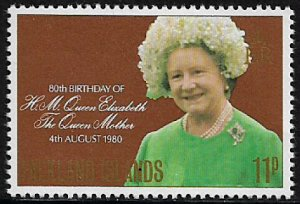 Falkland Is #305 MNH Stamp - Queen Mother