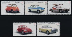 Germany B910-4 MNH Cars, Automobiles