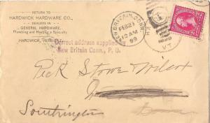 United States Connecticut Correct address supplied by New Britain Conn., P.O....