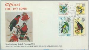 82608 - FIJI  - Postal History -  Official FDC COVER 1971:  BIRDS
