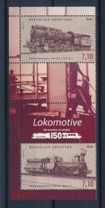 [61158] Croatia 2012 Railway Train Eisenbahn Chermin De Fer MNH