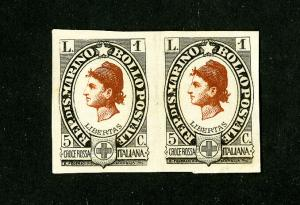 Bolivia Stamp Early Essay Pair