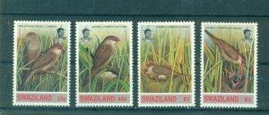 Swaziland - Sc# 624-7. 1993 Birds. MNH. $6.05.