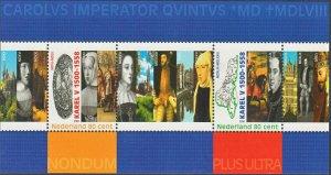 Netherlands 2000 500th Anniversary of Charles V Miniature Sheet MUH