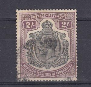 Tanganyika KGV 1927 2/- SG103 J8452