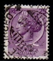 Italy - #998G Italia (Wmk 303 16 x 20) - Used