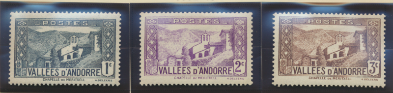 Andorra (French Administration) Stamps Scott #23 To 28, Mint - Free U.S. Ship...