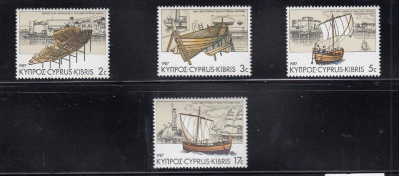 CYPRUS 7 MNH DIFFERENT SETS STARTS AT ONLY $2