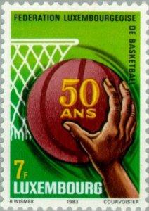 Luxembourg 1983 Basketball federation MNH**