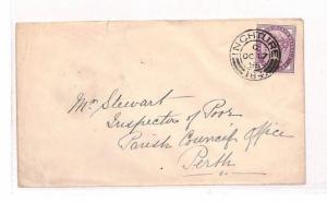 BB57 1895 GB Scotland Inchture Perth Cover {samwells-covers}PTS