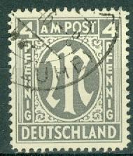 Germany - Allied Occupation - AMG - 3N3b